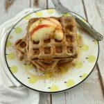 FODMAP diet breakfast recipe - apple cinnamon waffles