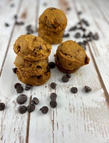 chocolate chip pumpkin cookies - FODMAP diet cookies