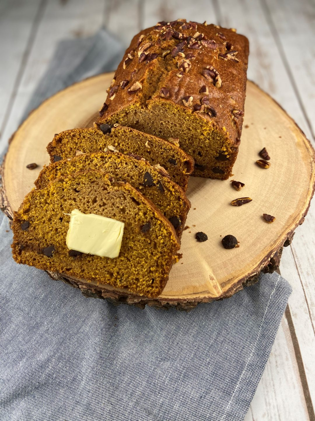 FODMAP diet bread - Gluten-Free Pumpkin Chocolate Chip Bread