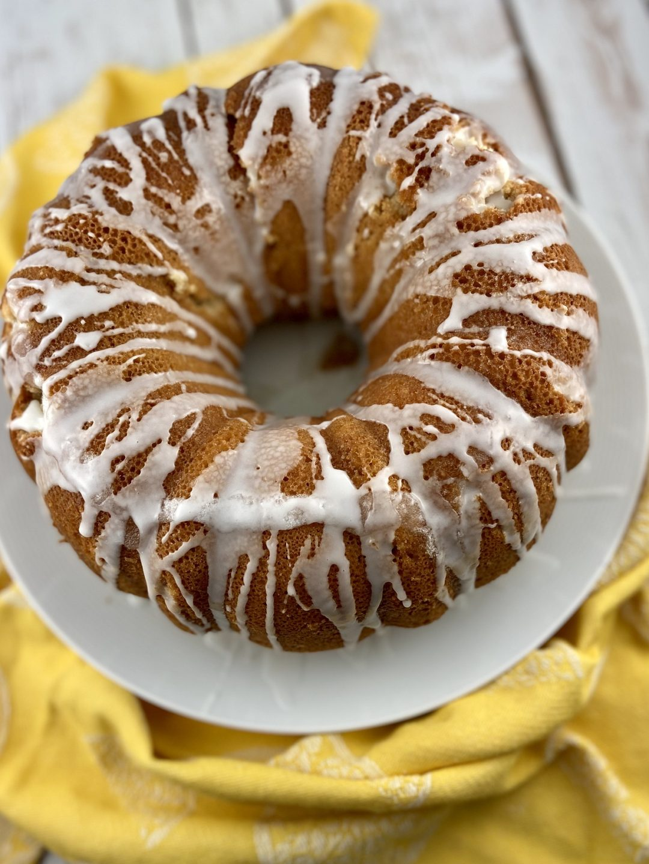 low FODMAP cake - meyer lemon bundt cake