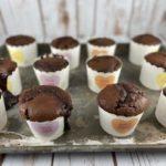 FODMAP muffin recipe - Double Chocolate Strawberry Muffins