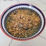 FODMAP safe snack - spirulina smoothie bowl