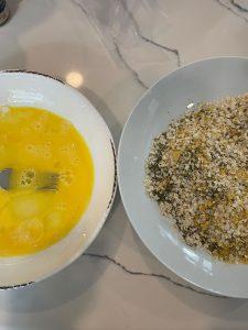 breadcrumb mix eggwash